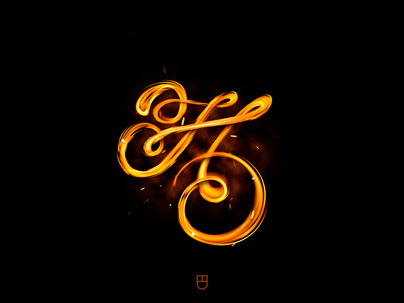 H...HOT🔥 graphicdesign font typography type lettering
