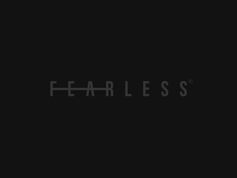Fearless branding logo logotype