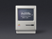Dribbble invitation e-mail