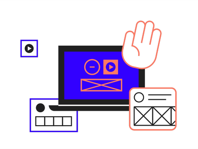 UXPin Onboarding Emails Animation Day #1 figma framer uxpin wireframe face animation face motion graphics motion design motion after effects animation web app icon typography ux vector ui design illustration