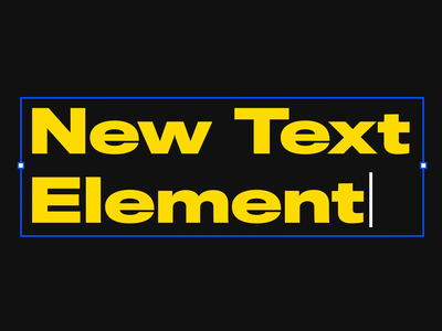 UXPin 2.0 - New Text Element and Ligatures product design ux ui yellow blue outline font ligature kinetic typography typography aftereffects 2d animation motion design motion features 2.0 uxpin