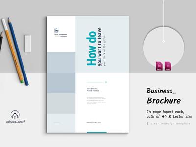 Brochure Template clean profile classic brochure business profile business portfolio business brochure brochure design brochure booklet bifold brochure annual report template annual report brochure annual report