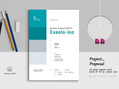 Indesign Proposal web proposal template simple proposals professional modern minimal letter informational indesign elite-standard proposal