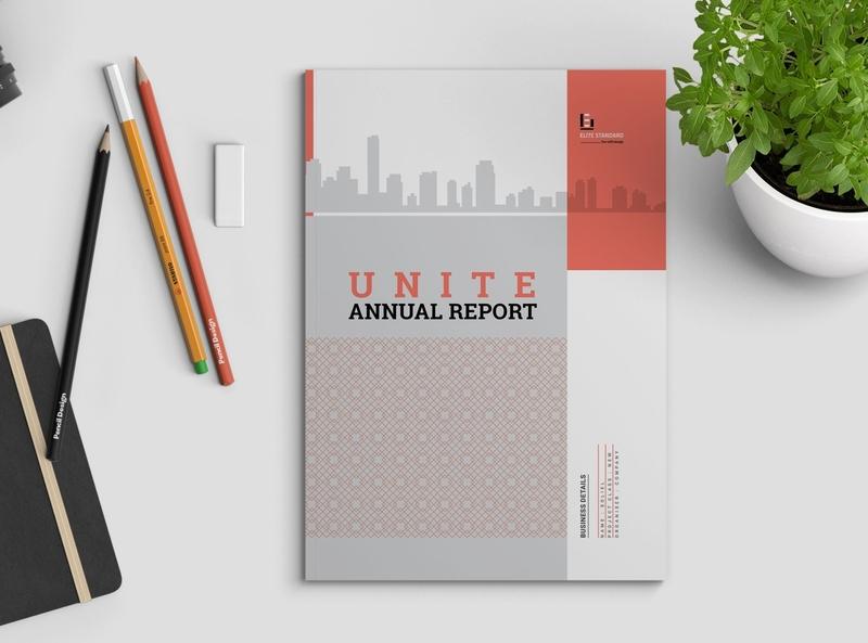 Unite Annual Report company profile company brochure company clean brochure clean classic brochure business profile business portfolio business brochure business brochure design brochure booklet bifold brochure bifold annual report template annual report brochure annual report