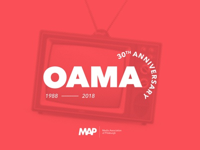 Outstanding Achievements in Media Awards — 30th Anniversary Logo