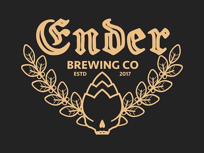 Ender Brewery Branding