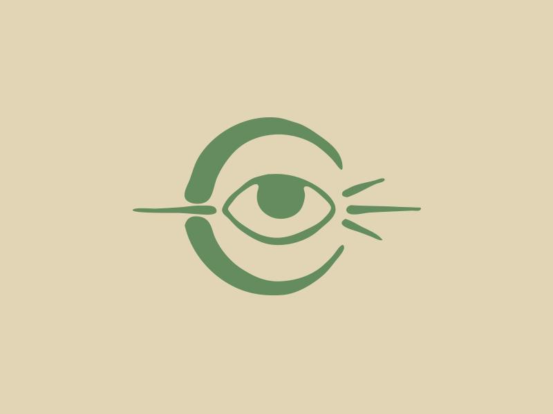 Clairvoyant Customs had drawn hand made tattoo esoteric mark brand illustration amplifiers branding logo