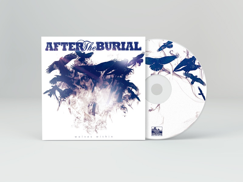 Wolves Within after the burial album art record sumerian wolf metalcore hardcore djent art album