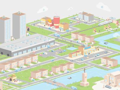 CaaS - Councils as a Service Smart City Illustration