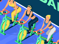 Gym - Spin Class
