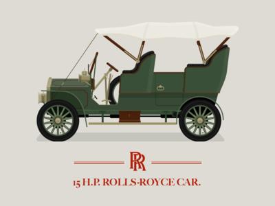 1904 Rolls Royce 15 H.P