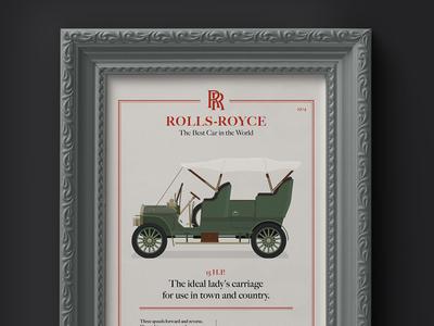 1904 Rolls-Royce 15 H.P. Advertisement