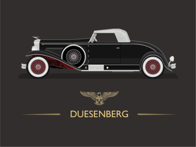 1931 Duesenberg - Whittell Coupe