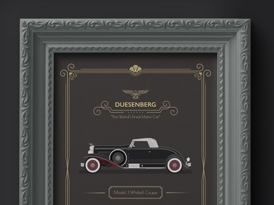 1931 Duesenberg - Whittell Coupe Advertisement