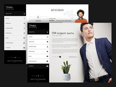 Tfolio - Personal Portfolio & CV / Resume Jekyll Theme vcard resume theme resume responsive portfolio professional cv portfolio personal material cv cv creative portfolio blog