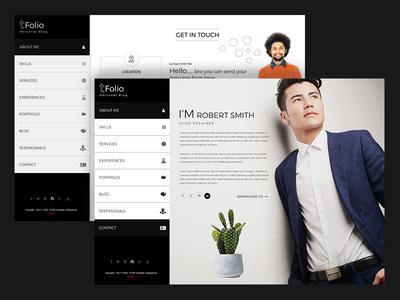 Tfolio - Personal Portfolio & CV / Resume Jekyll Theme