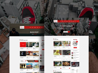 Mytube - Video Blog and Magazine Ghost Theme video magazine video html template video blog video article video magazine dailymotion bootstrap 4