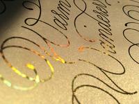 Warm Wanderer - Gold Foil