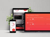 Music Artist Website Concept Teaser