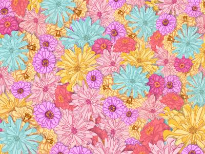 Floral sketch art floral illustration floral art joyfull joyful happy spring summer pattern floral pattern nature drawing digital apple pencil ipad flower flowers floral illustration