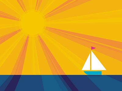 Summer Sailing sailboat water sunshine sunny sun sail sailing summer