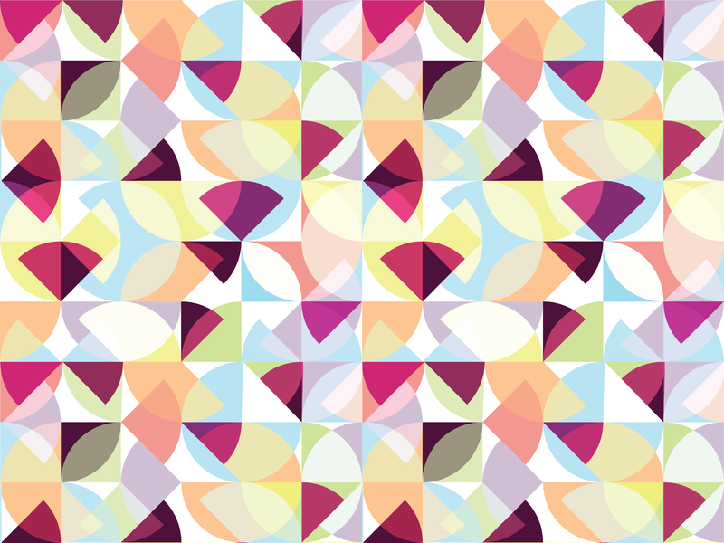 Pattern Play design illustration geometric art geometric illustration geometric pieces slices slice geometry circle pie pi spring pattern
