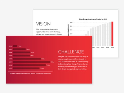 Finance for Resilience Presentation data visualization red keynote presentation powerpoint