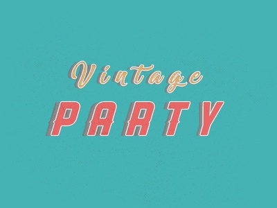 Free Vintage Style Text