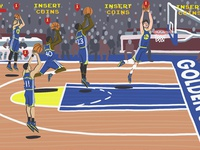 Triangle Offense - NBA Jam (GSW Edition)