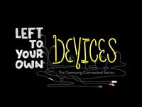 """Devices"" final film title treatment"
