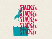 stacks and stacks and...