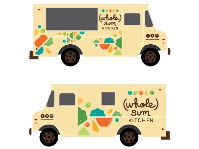 Juice Bar / Food Truck branding