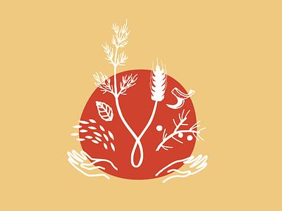 Gamle Ode Aquavit Special Reserve label illustration brand
