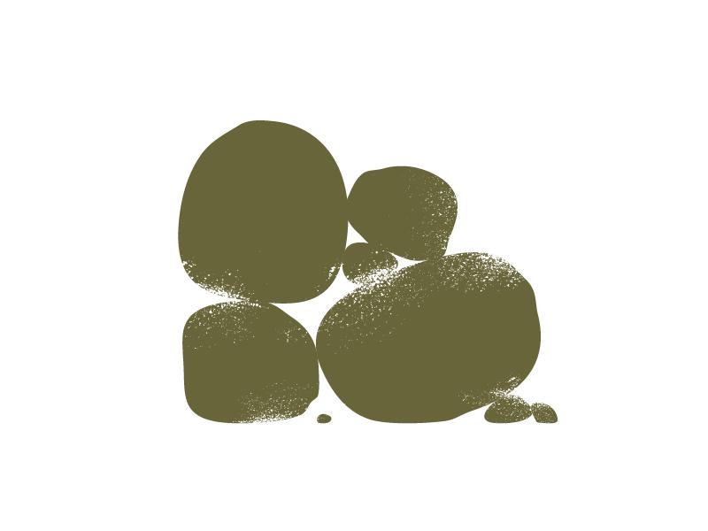 rocks rubble illustration vector