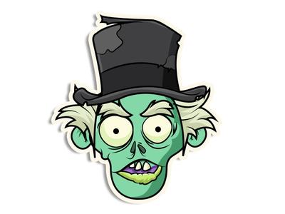 Top Hat Zombie