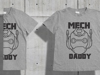Mech daddy T-Shirt design