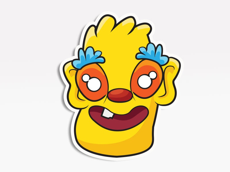 Drerpy Monster creative market monsters. stickers emoticon emoji avatar
