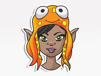 Squid Hat Girl