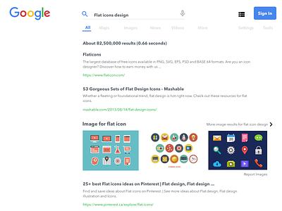 Google Redesign Concept concept website webdesign google redesign ux ui design
