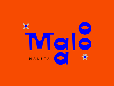 Malo logodesign logotype type art typedesign malo color letter lettering type ilustration