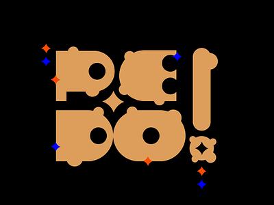 Pedo p problems pedo shine type design type art logotype logodesign lettering letter ilustration color