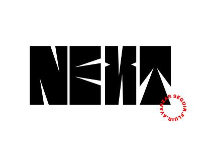 Next new vector next logo typedesign letter design type