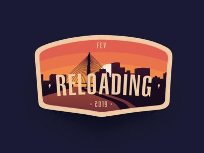 February Badge