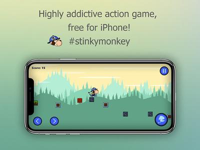 Stinky Monkey Mobile Game App