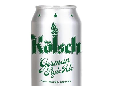 Kölsch Beer Can