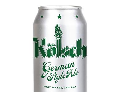Kölsch Beer Can german brew brewery can beer