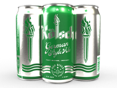 Kölsch beer can torch beer can kolsch brewery brew beer