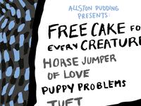 Allston Pudding Poster