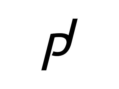 PJ monogram j p illustrator logo monogram