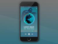 Music Player UI [iOS]
